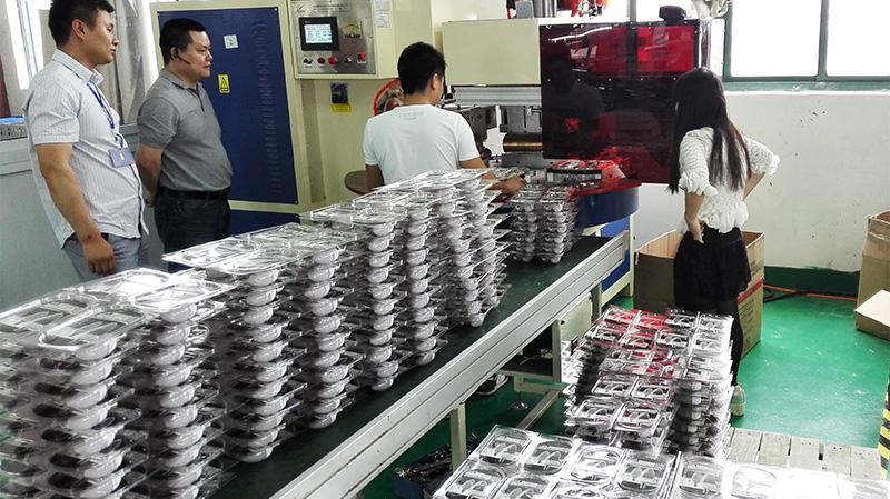 自动多功能吸塑包装熔切机 pet同步熔断机