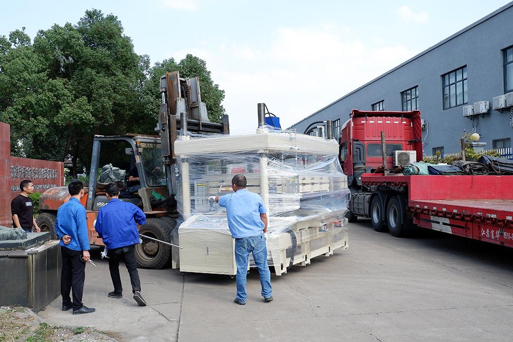 100KW高周波水池焊接机装货