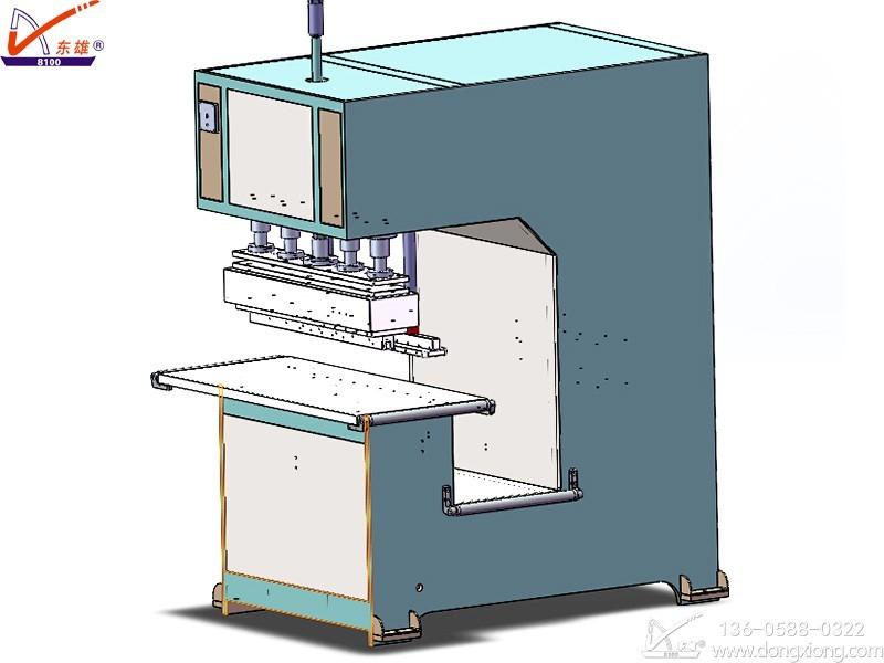 12KW深喉膜结构焊接机图纸