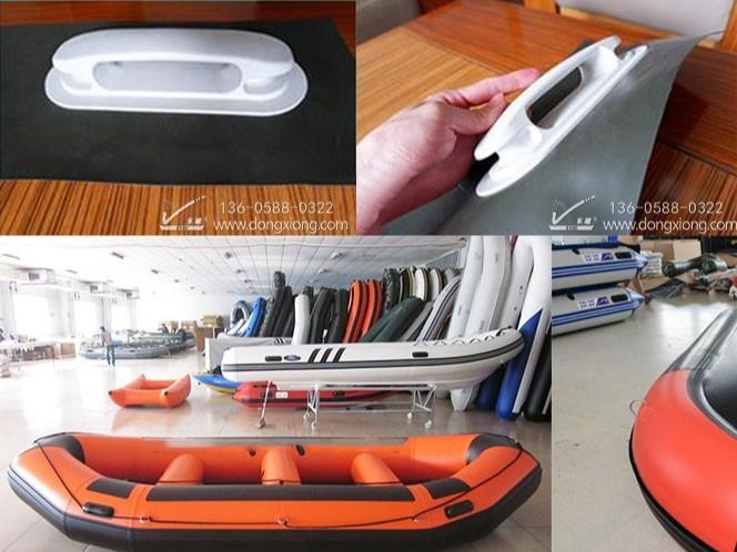 充气游艇高频焊接样品