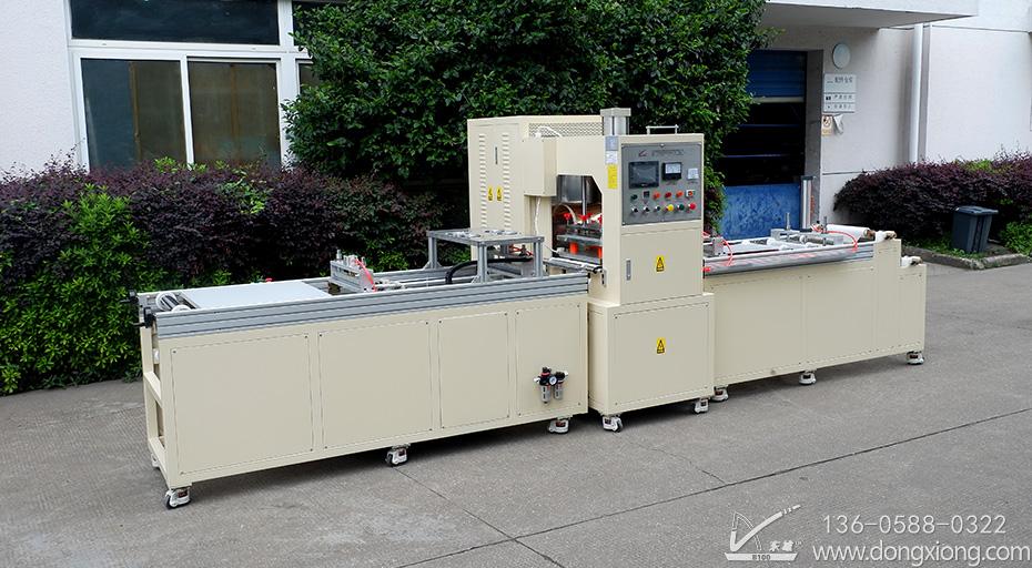 PVC氧气袋自动拉料机