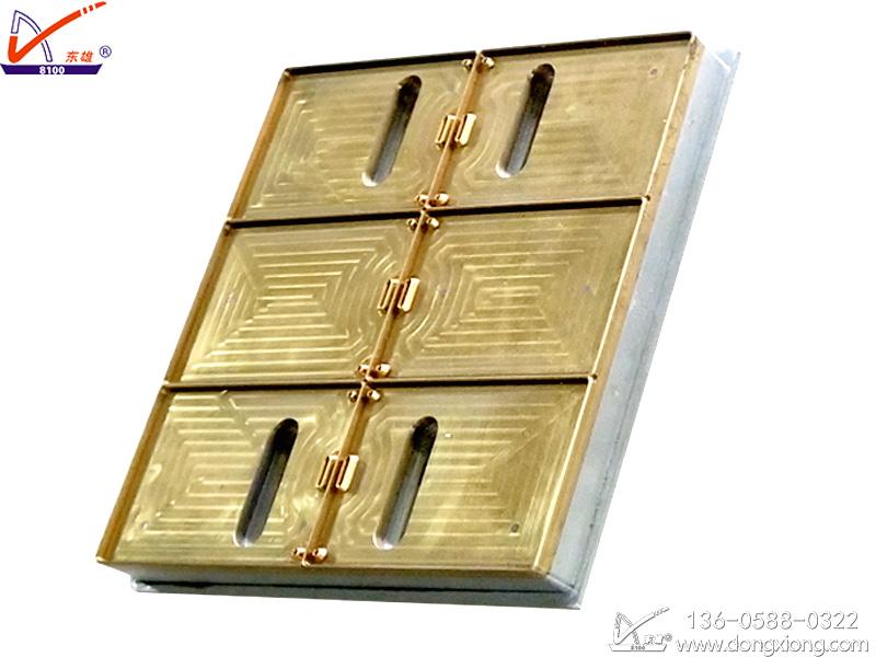 胸卡挂牌高频热合机模具