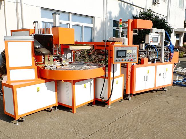 慈溪科技集团全自动吸塑成型高周波焊接一体机项目介绍