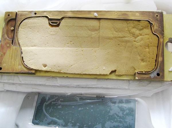汽车遮阳板高周波熔接机-汽车遮阳板模具