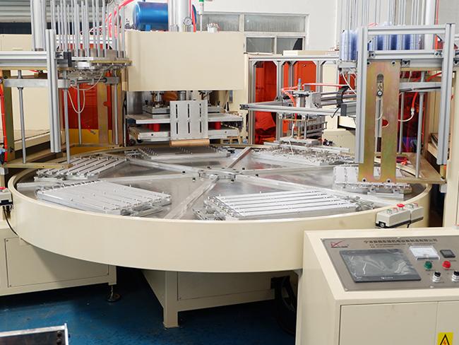 自动放泡壳六工位转盘高周波项目介绍