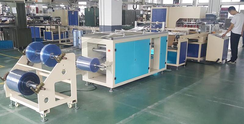 得力PVC卡套全自动拉料机生产线项目介绍